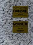 - ORCHESTER-PROBESPIEL F�R KLARINETTE (HEPP/ROHDE)
