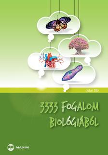 Gutai Zita - 3333 fogalom biológiából