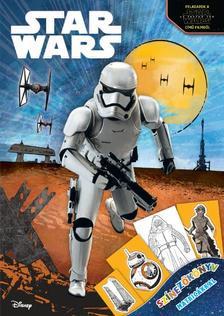 - - Star Wars - Sz�nez�k�nyv matric�kkal