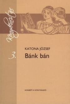 Katona József - KT-0005 BÁNK BÁN /KÖNYVKINCSTÁR/