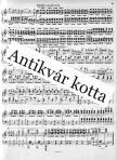 BACH-BUSONI - TOCCATA C-DUR BWV 564 FÜR KLAVIER ANTIKVÁR PÉLDÁNY