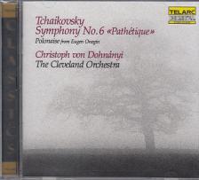 Tchaikovsky - SYMPHONY NO.6 , POLONAISE CD