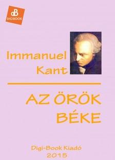 Kant Immanuel - Az örök béke [eKönyv: epub, mobi]