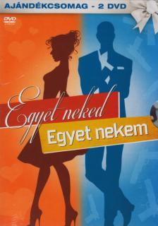 _ - EGYET NEKED, EGYET NEKEM (SZERELEM A N�GYZETEN, BLACKJACK) - 2 DVD -