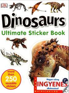 . - Dinosaurs matricavilág - angol nyelvű matricás foglalkoztató