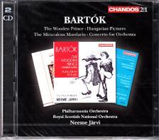 Bart�k - ORCHESTRAL WORKS 2CD NEEME JARVI