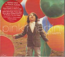 PINK MARTINI - GET HAPPY - PINK MARTINI CD