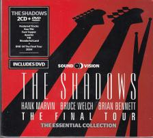 SHADOWS - THE FINAL TOUR - THE SHADOWS ESSENTIAL COLLECTION 2CD + DVD
