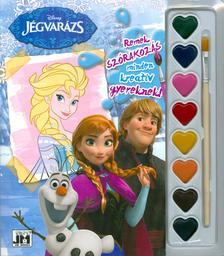 - Disney Jégvarázs - A5 kifestő vízfesték készlettel