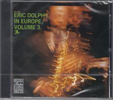 - ERIC DOLPHY IN EUROPE VOLUME 3. CD