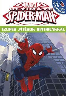 - Ultimate Spider-Man Szuper j�t�kok matric�kkal 16
