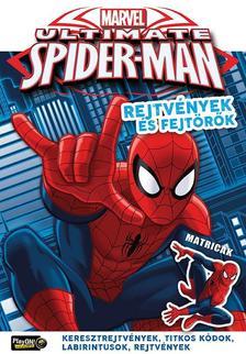 - Ultimate Spider-Man Rejtv�nyek �s fejt�r�k matric�kkal 24