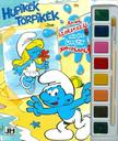 - Hupikék Törpikék - A5 kifestő vízfesték készlettel