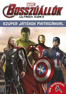 - Bosszúállók - Ultron kora Szuper játékok matricákkal 16