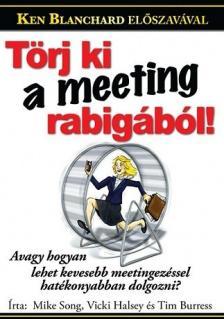 Mike Song, Vicki Halsey, Tim Burress - T�rj ki a meeting-rabig�b�l!