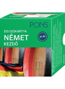 Klett Kiad� - PONS Sz�k�rty�k n�met nyelvb�l (alc�m: 333 sz� N�met kezd� csomag)
