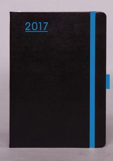 Kalendart Kiad� - N012 B6 HETI NAPT�R -  FEKETE-K�K