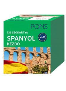 Klett Kiad� - PONS Sz�k�rty�k spanyol nyelvb�l (alc�m: 333 sz� Spanyol kezd�csomag)
