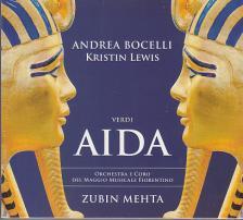 Verdi - AIDA 2CD - ANDREA BOCELLI, KRISTIN LEWIS