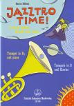 FELLOWS, DARREN - JAZZTRO TIME! A JAZZY JOURNEY THROUGH OUTER SPACE FOR TRUMPET IN Bb & PIANO
