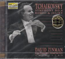 Tchaikovsky - SYMPHONY NO.4 - ROMEO & JULIET CD DAVID ZINMAN