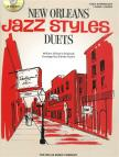 GILLOCK, WILLIAM - NEW ORLEANS JAZZ STYLES DUETS. EARLY INTERMED. PIANO 4 HANDS + CD (G. AUSTIN)
