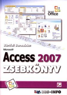 BÁRTFAI BARNABÁS - Access 2007 zsebkönyv