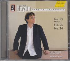 Haydn - SYMPHONIES NOS 43,25,36,CD