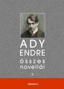 Ady Endre - Ady Endre �sszes novell�i II. k�tet [eK�nyv: epub, mobi]