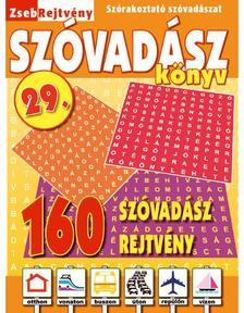 CSOSCH KIADÓ - ZsebRejtvény SZÓVADÁSZ Könyv 29.