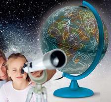 . - Föld- és csillaggömb 25cm (NIGHT&DAY) világító