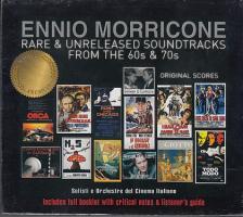 MORRICONE - ENNIO MORRICONE RARE & UNRELEASED SOUNDTRACKS FROM 60S & 70S 2CD