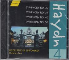 Haydn - SYMPHONIES 39,34,40,50,CD