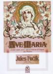 FUCIK, JULES - AVE MARIA POUR DEUX VIOLON ET ORGUE OU PIANO OP.219 (REPRINT )
