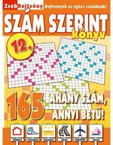 CSOSCH KIAD� - ZsebRejtv�ny SZ�M SZERINT K�nyv 12.