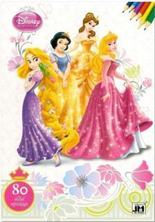 - Disney Hercegnők - 80 oldal szórakozás