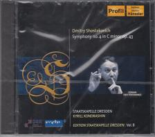 SHOSTAKOVICH - SYMPHONY NO 4 ,CD