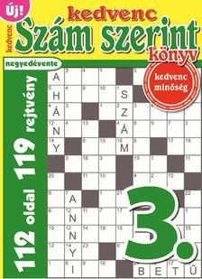 CSOSCH KIAD� - Kedvenc Sz�m Szerint K�nyv 3.