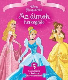 - - Disney - Szivacsos kirakós könyv - Az álmok hercegnői