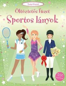 - Sportos lányok - Öltöztetős füzet