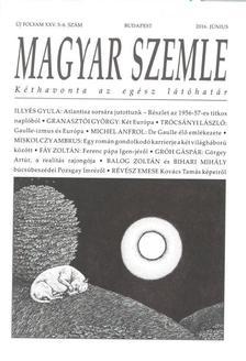 - MAGYAR SZEMLE - 2016. Június