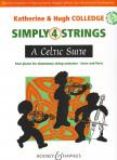 - A CELTIC SUITE,  FOUR PIECES FOR ELEMENTARY STRING ORCHESTRA,  SCORE AND PARTS ON CD-ROM