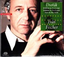 DVORAK - SYMPHONIES NO.8,9 SACD FISCHER IVÁN, BUDAPEST FESTIVAL ORCHESTRA