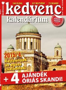 CSOSCH KIADÓ - Kedvenc Kalendárium 2015/4.