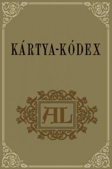 István (szerk.) Szomaházy - Kártya-kódex [eKönyv: pdf]