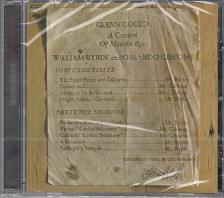 BYRDE, GIBBONS - A CONSORT OF MUSICKE BYE BYRDE AND GIBBONS CD GLENN GOULD