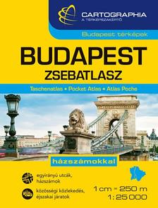 Cartographia Kiad� - Budapest zsebatlasz 1:25 000