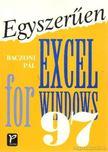 Baczoni Pál - Egyszerűen Exel for Windows 97 [antikvár]