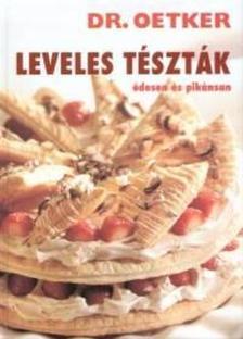 Dr. Oetker - LEVELES T�SZT�K - �DESEN �S PIK�NSAN