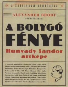 Alexander Brody - A bolygó fénye - Hunyady Sándor arcképe